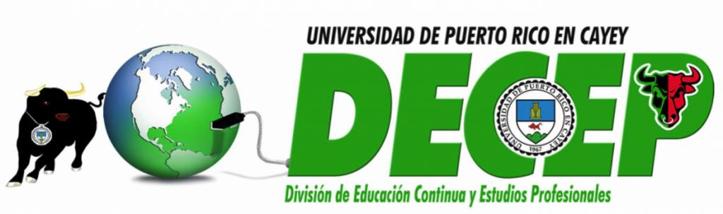 Logo representativo de la DECEP