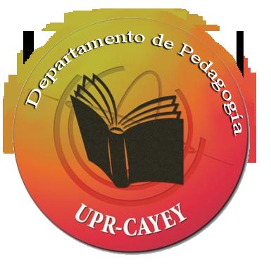 LOGO Representativo del Dept de Pedagogía UPR Cayey