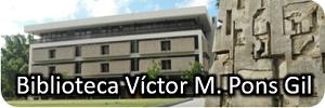 Imagen representativa a el enlace al portal de la Biblioteca Victor M Pons Gil