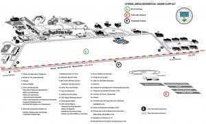 Mapa de la UPR en Cayey