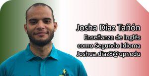 Imagen tutor Joshua Díaz