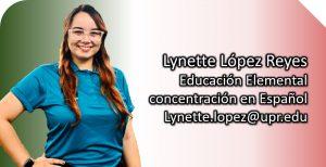 Imagen tutor Lynette López