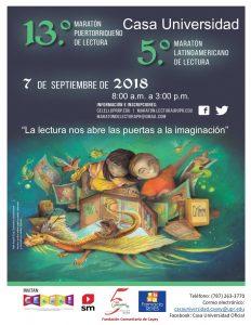 Promoción 13 Maraton Puertorriqueño de Lectura