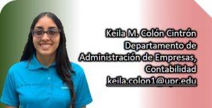 Imagen representativa a información de Keila M. Colón Cintrón