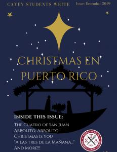 Imagen promoción a las lecturas de Christmas en Puerto Rico