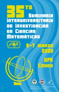 Imagen promoción ha actividad 35to Seminario Interuniversitario de Investigación en Ciencias Matemáticas