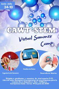 Image promo CAWT STEM Virtual Summer Camp