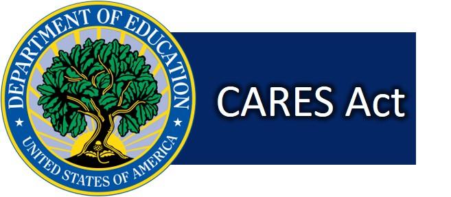 Imagen de boton para acceder al CARES Act