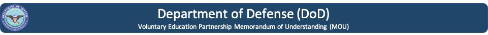 Banner para acceder a información de DoD-MOU