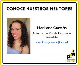 Foto de Marialiana Guzmán