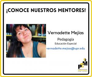 Foto en Vernadette Mejias